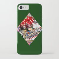 cyarin iPhone & iPod Cases featuring Diamond Playing Card Shape - Las Vegas Icons by Gravityx9