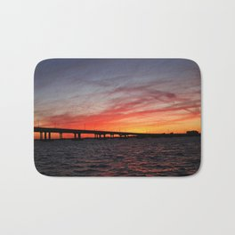 An Evening on the Caloosahatchee I Bath Mat