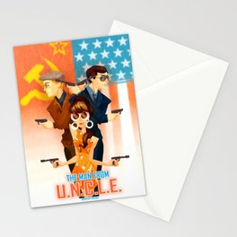 THE MAN FROM UNCLE Stationery Cards