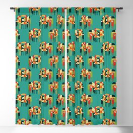 Toucan Blackout Curtain