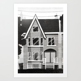 Places I've Lived Series - 2 Art Print