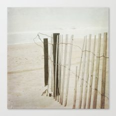 Ocean Fence Canvas Print
