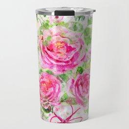 Camellias Bouquet Travel Mug