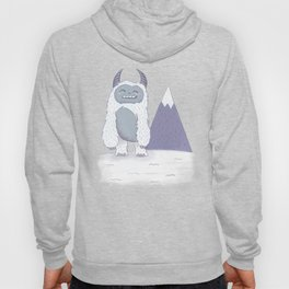 Yeti in the Mountains - Blue Hoody