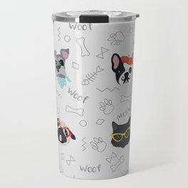 Polka Pets Travel Mug