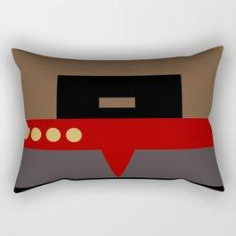 Captain Sisko - Minimalist Star Trek DS9 Deep Space Nine - Trektangle - Trektangles startrek Rectangular Pillow
