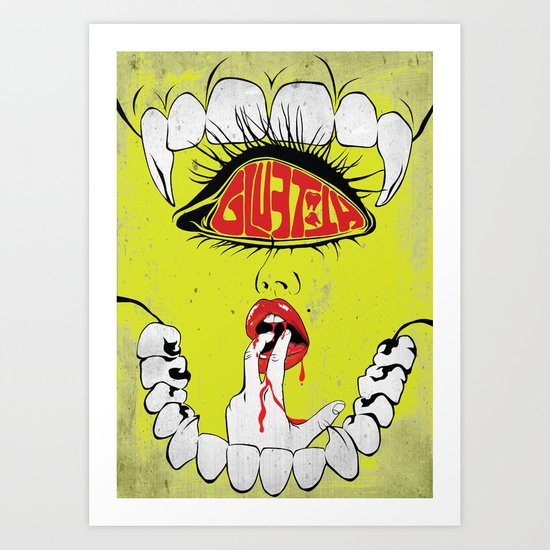 Gluetooth Art Print