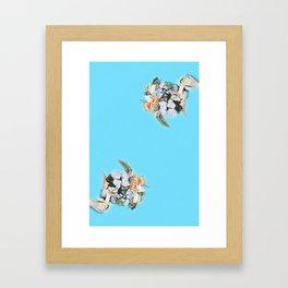 banana ladies Framed Art Print
