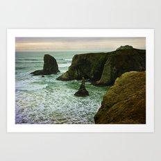 Pacific Northwest Coast Art Print