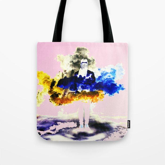 Boom Color Tote Bag