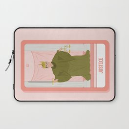 Tarot Card XI: (Supreme Court) Justice Laptop Sleeve