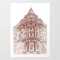 takmaj Art Prints featuring Facade by takmaj
