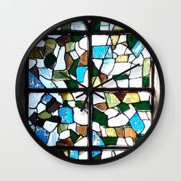 Beauty in Brokenness Andreas 1 Wall Clock