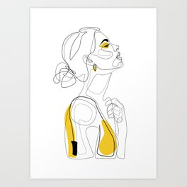 Color Beauty Art Print
