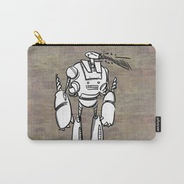 Happy Robot and his Blaster Carry-All Pouch