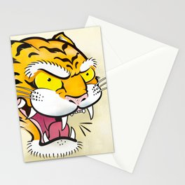 Tiger Tattoo Flash Stationery Cards