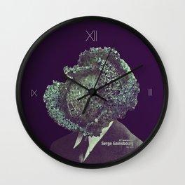 L'Homme à tête de chou Wall Clock