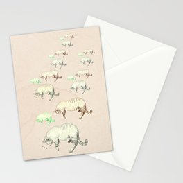 sleeping cats Stationery Cards