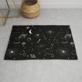 galactic pattern Rug