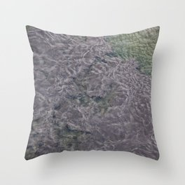 Water Currents No3 Throw Pillow