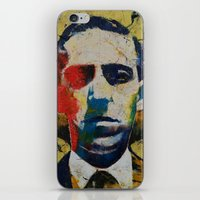 lovecraft iPhone & iPod Skins featuring Lovecraft by Michael Creese