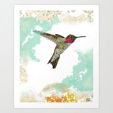 Hummingbird Ayre Serene Dream Art Print