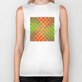 pixel pattern. 15 Biker Tank