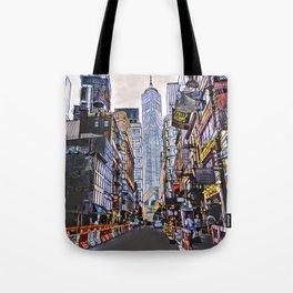 Downtown New York1 Tote Bag