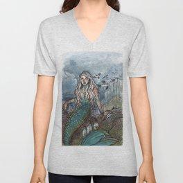 Tempest Mermaid Unisex V-Neck