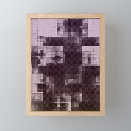 Pyramid Cities Framed Mini Art Print