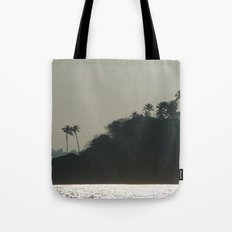 Palm Trees on Monkey Island Tote Bag