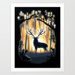Master of the Forest Art Print