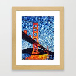 Golden G8 Framed Art Print