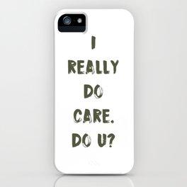 DO U? iPhone Case