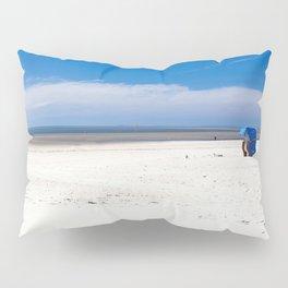 Beach Chair At The North Sea Pillow Sham