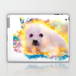 curious seal Laptop & iPad Skin
