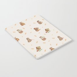 Cute French Bakery Notebook