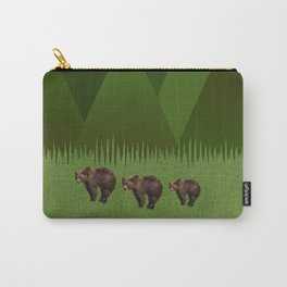 Bears in the Mountains Carry-All Pouch