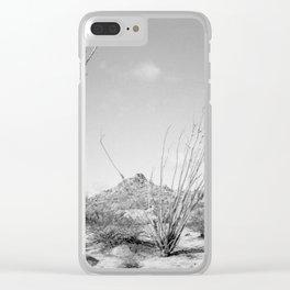 California Ocotillo Clear iPhone Case