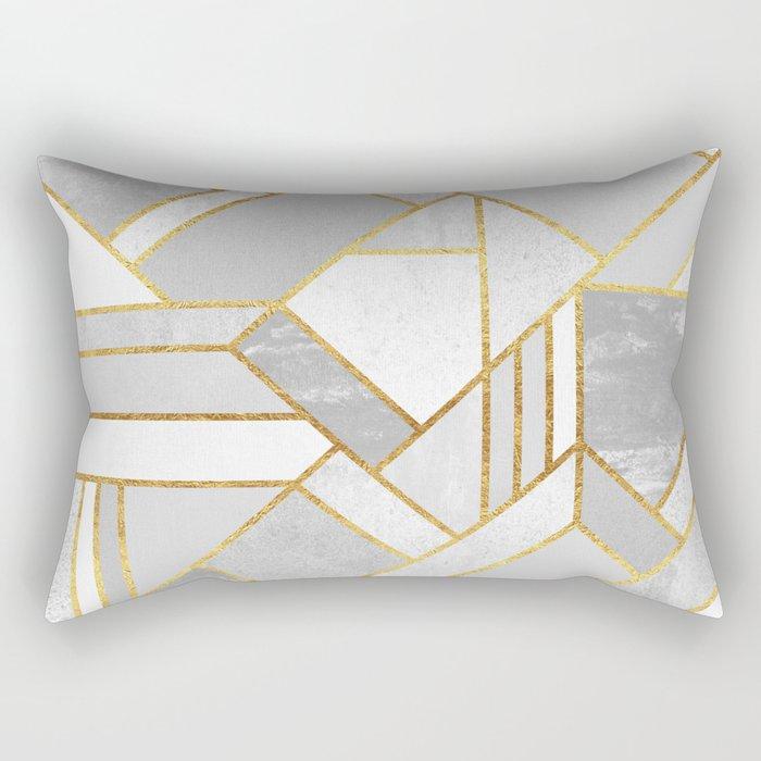 Gold City Rectangular Pillow