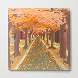 Tree Arch Metal Print