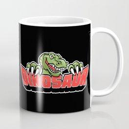 dinosaur mascot. Coffee Mug