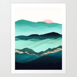 Summer Hills Kunstdrucke