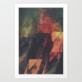 Tantrums Art Print