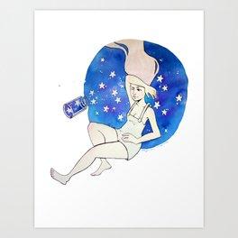 Starspill Art Print