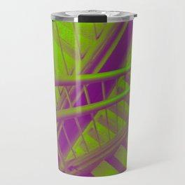 Indecisive, green Travel Mug