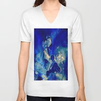 angels V-neck T-shirts featuring angels by  Agostino Lo Coco