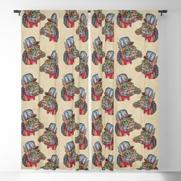 Steampunk G Blackout Curtain