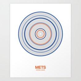 New York (Queens) rings Art Print