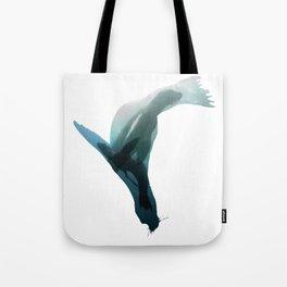 Galapagos sea lions triple exposure Tote Bag